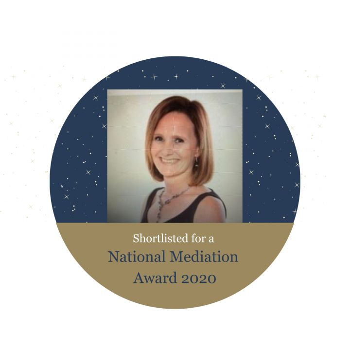 Judith Kelbie - shortlisted for Mediator Trainer of the Year 2020!